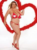 V Is for Voluptuous Valentine