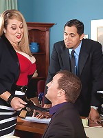 Dani Moore - Threeway Sexecutive Meeting