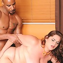 Nikki Armand has put this man in shock. It's her first black cock! Wow! Her lips are just waiting for the chance to wrap around that big hard black cock.
