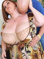 Lexxxi Luxe is one hot fine of BBW plumper ass that shows her tru colors in this hardcore first time fuck scene!