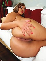 Sabella Monize is back once again my friends! This hot Latina BBW beauty is ready to show off her even bigger fat ass! That's right. Her ass is now officially 49 inches round!
