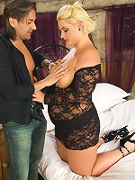 Jessica Jones is a hot young blonde British BBW babe with a fantastic chubby belly.