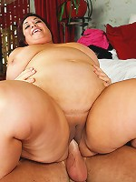 Watch the sexy BBW Rikki Waters get her pussy pounded!