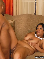 First Time Fatty Betty Blac knows that in order to make her debut here, she must show some hardcore bangin' action! She loves to slurp on dick right before the hardcore BBW sex starts!