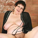 Hot overweight granny shows how nasty she can get