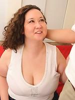 Half asian plumper having her plump ass jizzed