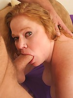 Blonde BBW hottie gets cock jammed