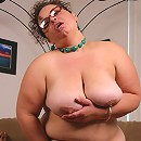 Naughty bbw Shianna indulges her craving for cocks by taking a black schlong in her twat