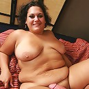 Chloe Blake has nothing on her mind but sex and here a guy indulges her greedy fatty pussy