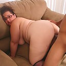 There is nothing hotter than watching a busty BBW named Shianna ride a on top of a black cock