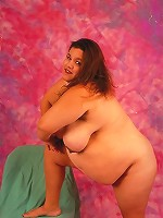 Dirty Fat Slut Posing and Showing Big Tits and Saggy Ass