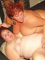 Louise and Mindy go at it and enjoy the taste of pussy juice in a steamy live BBW sex scene