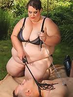Original femdom threesomes with BBW dominatrixes