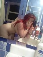 Sexy chubby teen posing