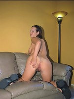 Voluptuous cutie loves to take it from behind!