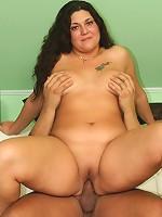 Big butt slut bent over and fucked hard!
