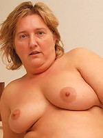 BBW can't wait to get cock all in her big pussy!