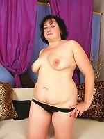 Big hefty slut takes a double dose of dick!