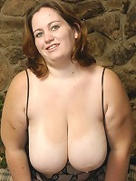 Massive mounds of milk juggs hang off this hot bbw