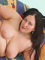 The saucy BBW babe likes a good pussy pounding and her new man delivers it well