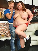 Hard thrusts for the BBW beauty