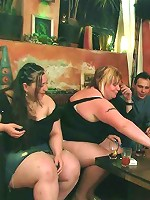 Incredible sucking in a BBW orgy