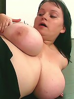 Her dishwasher is broken and the repair guy comes over to her place and fucks her fat pussy