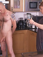Super hot blonde plumper with tats and sexy lingerie uses chance to fuck husband