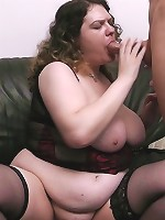 Fat pussy deep-dicked