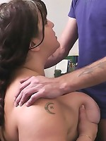 Fat endowed cutie boned for a special bonus by her own future boss right in the office