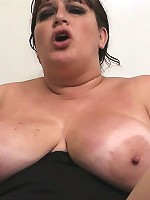 Future boss gets it on with a BBW cutie fucking her hole and tits for a special bonus