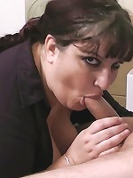 Gorgeous fattie fucked in office