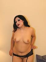 Chubby Latina Loves Cock