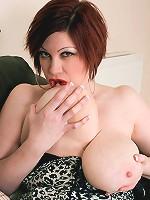 Brit Goth Goddess of Tits