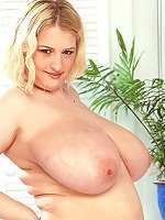 Big titted blonde Dr. getting her damp crotch pounding hard.