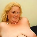 Blonde Curvy Plumper