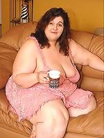 Fatty Brunette Fucked
