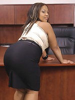 Three words to describe her would be: young, brown, and round. Round because she's got a lovely ass that is tailor made for doggystyle and spanking. It's just that right mix of thickness;