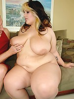 What's better than a barely legal BBW blonde babe??? Not a fucking thing. This fat assed fat tittied freak was just the tender age of 19.