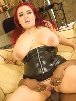 When it comes to plus sized ladies Jemstone is in our top five. Any BBW lover will be on cloud nine watching this heavy hitter do her thing